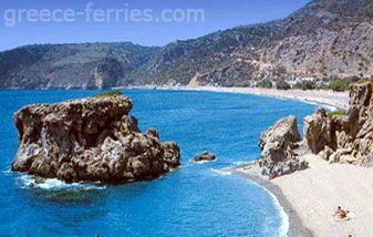 Sougia is a lovely seaside village 67 km from Chania. Its beach has small pebbles and crystal clear deep waters.
