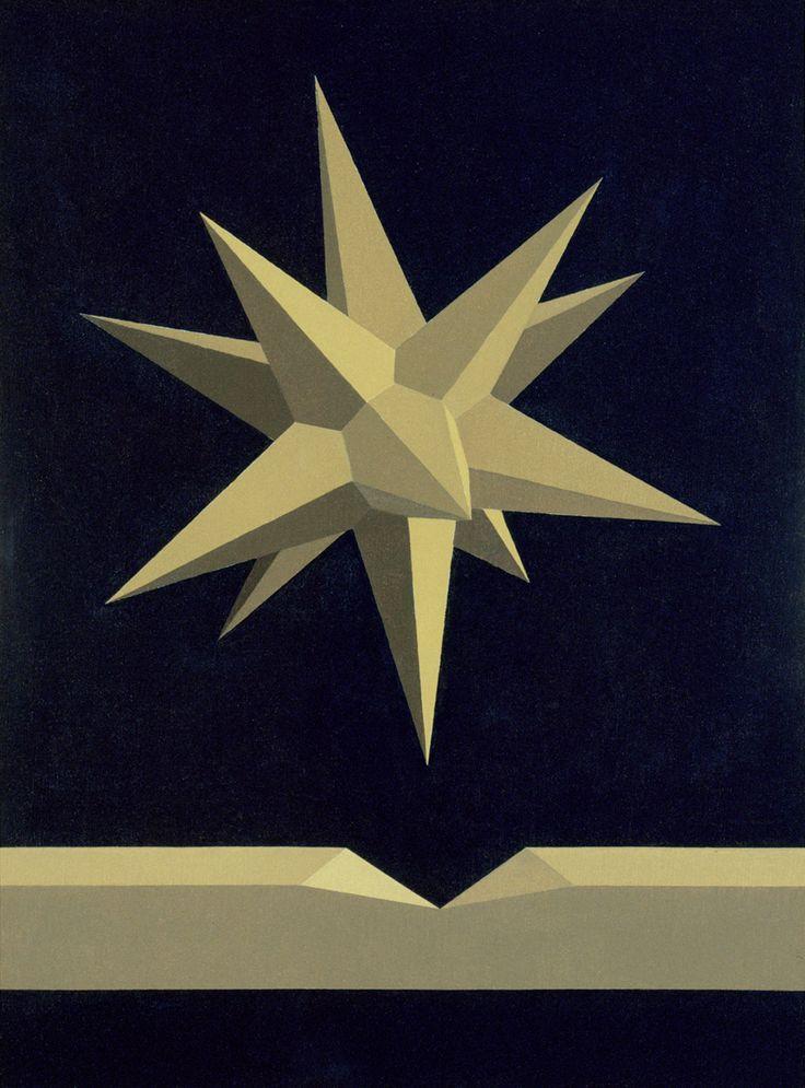 The star of Origen - Opus CCXCII - December 15 -1991Coll.Fondazione Saffaro -Bologna.