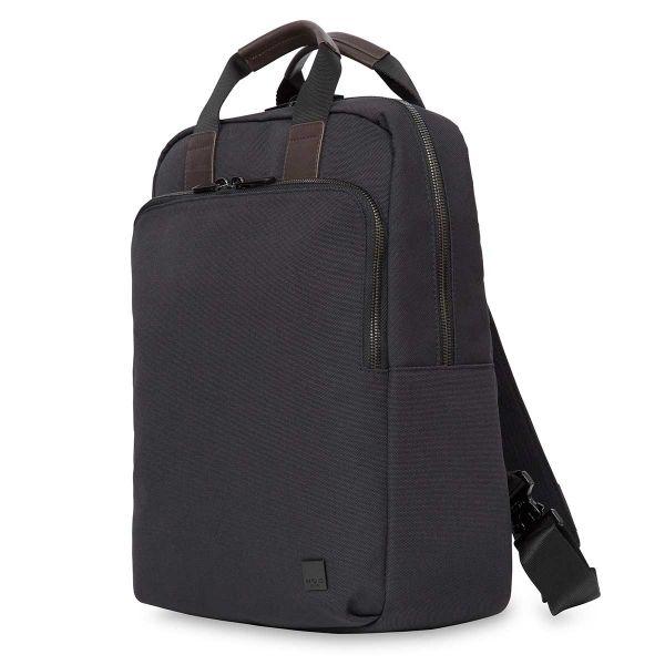 James Men's Tote Laptop Backpack - Charcoal| KNOMO