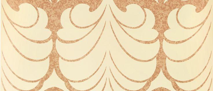 Alexander Copper Wallpaper at Laura Ashley