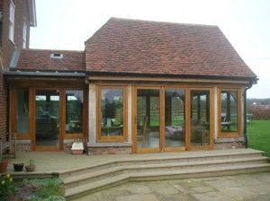 Oak Framed Extension – Tudeley, Kent
