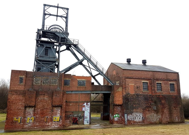 Barnsley Main colliery, S.Yorks, March 2017