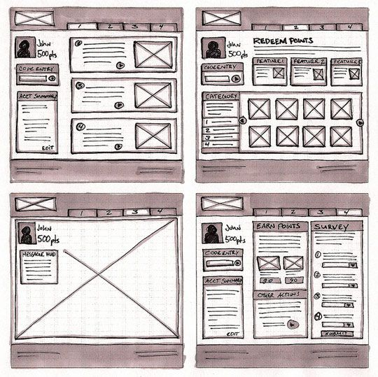 18 Great Examples of Sketched UI Wireframes and Mockups by Web Design Ledger - http://webdesignledger.com/inspiration/18-great-examples-of-sketched-ui-wireframes-and-mockups
