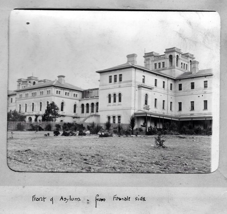 Front of Building from Female Side - Ararat Lunatic Asylum/Aradale Mental Hospital