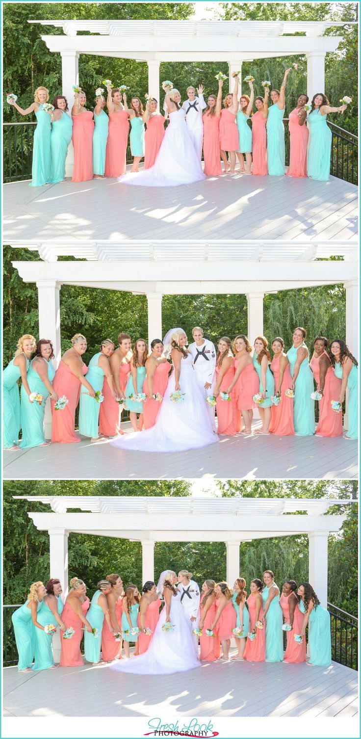 Beachy Woman's Club of Portsmouth Wedding, Virginia Beach wedding photographer, coral and teal wedding, rustic wedding venue, lesbian wedding photography, gay weddings, Mrs and Mrs, gay wedding inspiration, beachy wedding ideas, Fresh Look Photography, wedding inspiration