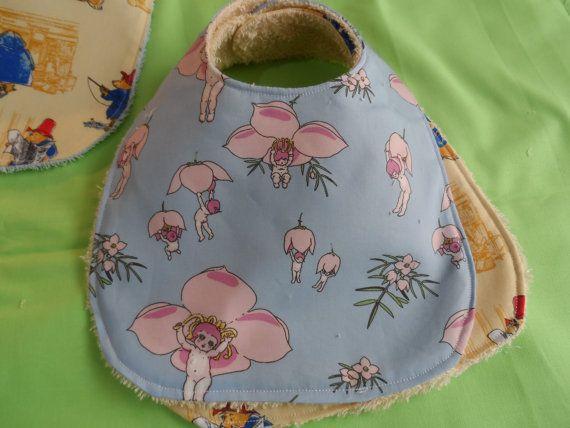 Baby Bibs - Handmade Baby Bibs - Burp cloths - Australian Made Bibs - New Born Babies Bibs - Baby Gifts