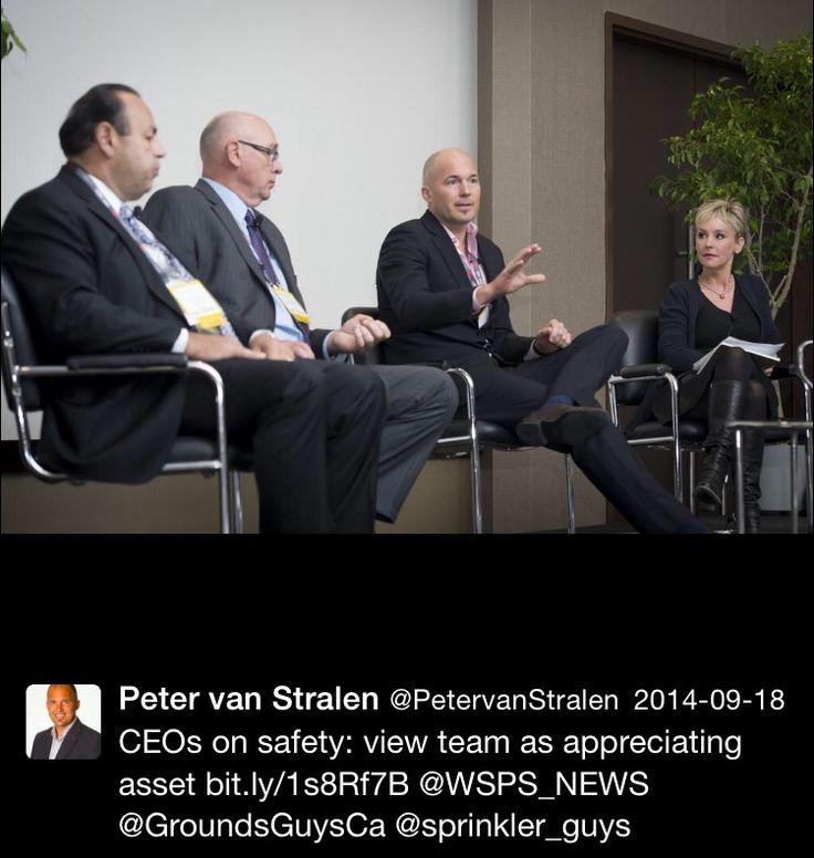 WSPS News - Thankyou for having me, Peter van Stralen. #WorkPlayCare #WorkSmart #PlayHard #CareMore #CARE #PetervanStralen