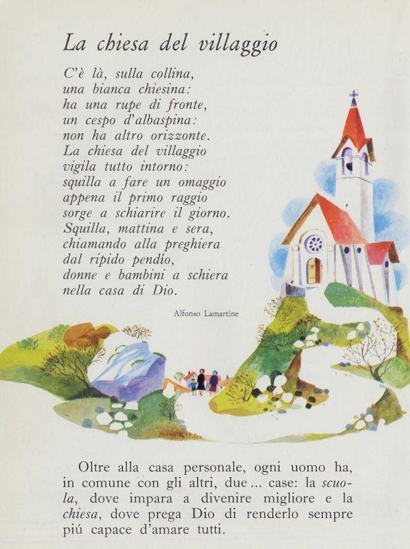 Da un vecchio libro di scuola del 1950-1960