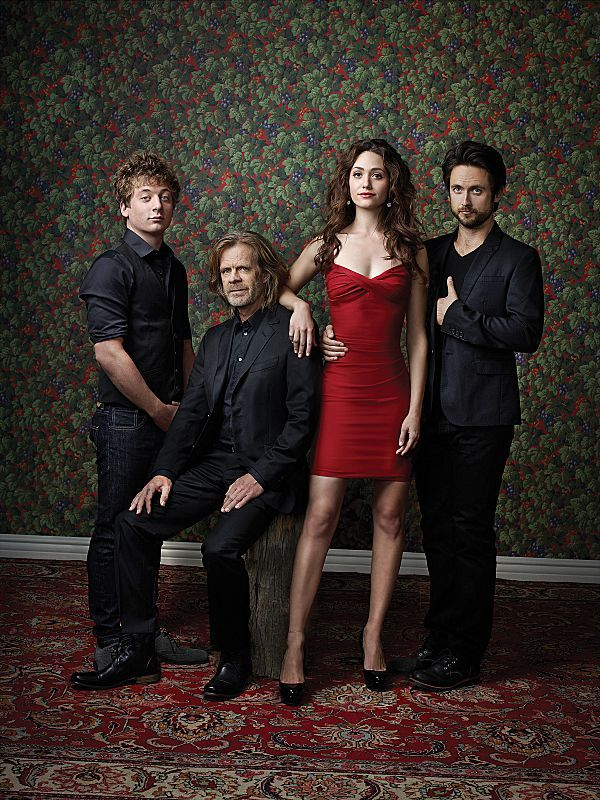 William H. Macy, Emmy Rossum, Jeremy Allen White and Justin Chatwin