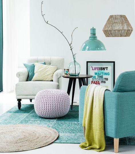 1000 id es propos de canap turquoise sur pinterest canap turquoise or - La redoute nouveautes ...