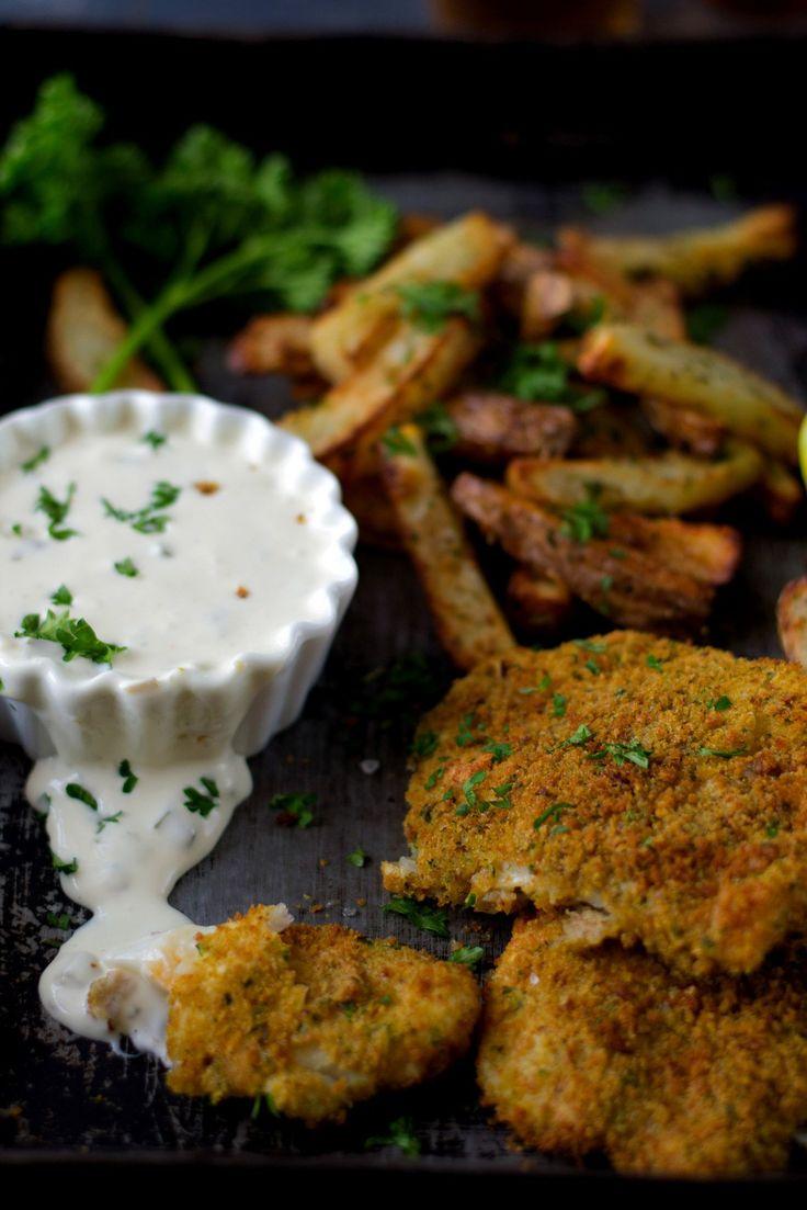 Fish & Chips With Tartar Sauce | acti fry recipes | Pinterest | Tartar ...