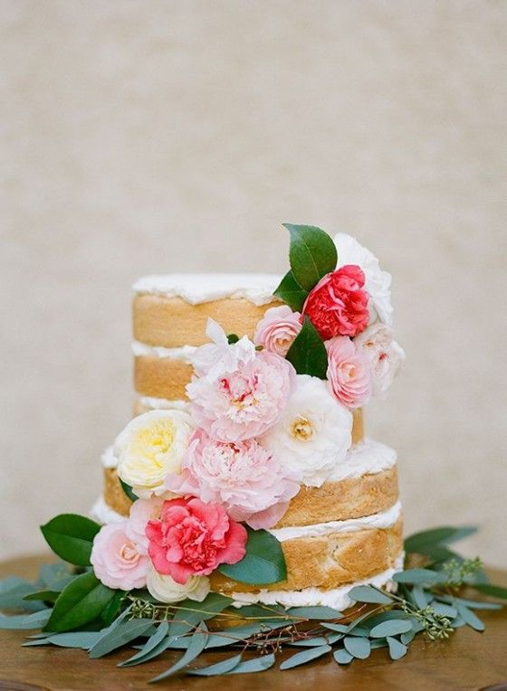 Love The Look Without Icing · Pretty Wedding CakesCake ...