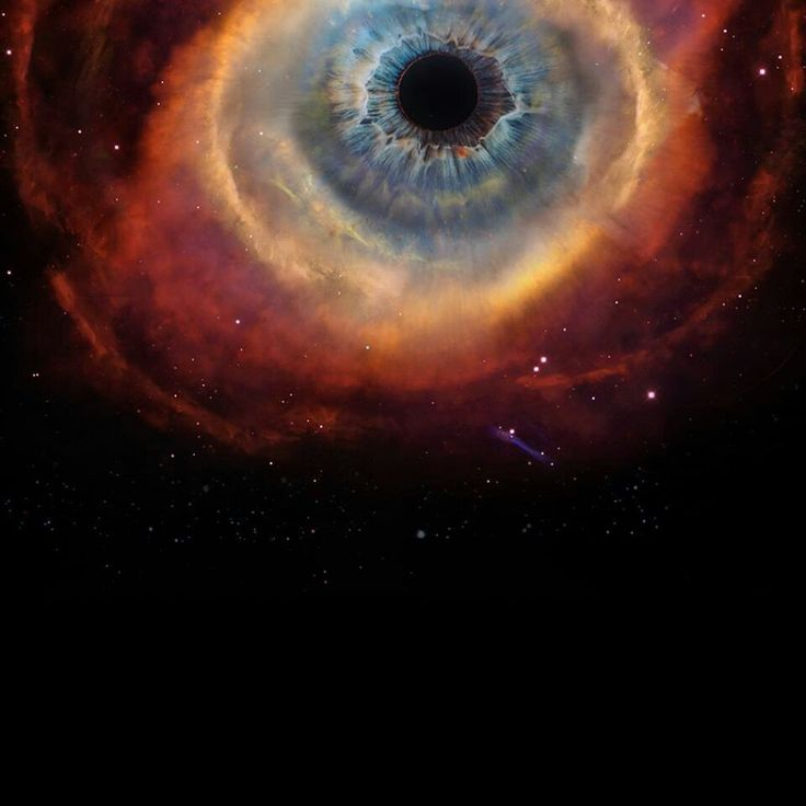 National Geographic- it looks like an eye, but it's a Nebula. We are made of this awesome stardust.  -Shannise-the supernatural is hidden and requires only belief.