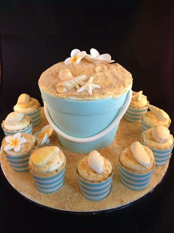 Easy Sand Pail Cake