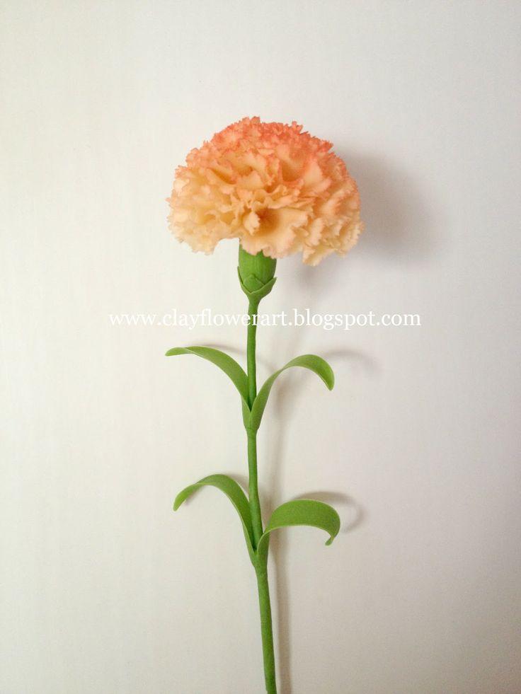 Carnation Tutorial | Clay Flower Art