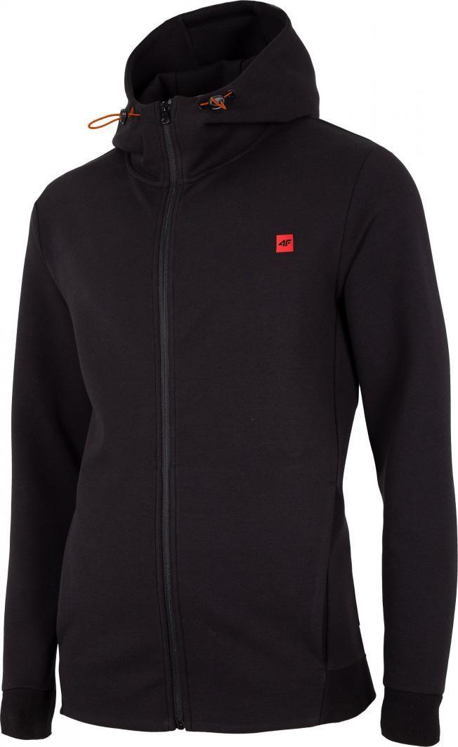 4f Bluza Meska H4z20 Blm012 Czarna R Xxl W Sklep Presto Pl Nike Jacket Puma Jacket Athletic Jacket