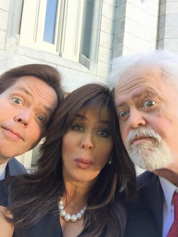 Jimmy, Marie, Merrill selfie on Jay & Karen's sealing day. June 2015. Photo by Marie Osmond.