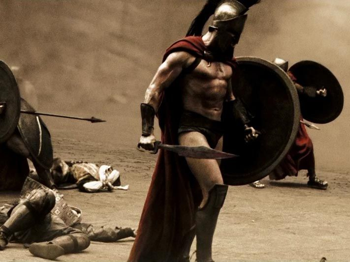 how to make king leonidas cape