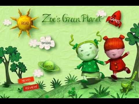 ▶ Zoe's Green Planet, interactive children's book for iPad, iPhone and Android - YouTube