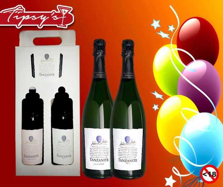 As you know it is our Birthday here at #TipsysLiquorBoutique , and we thank you for liking our page. We want to give away this #Tanzanite Cap Classique Sparkling Wine gift hamper. Please tell us in the comments what defines you as our biggest follower, and you could be the #lucky winner.