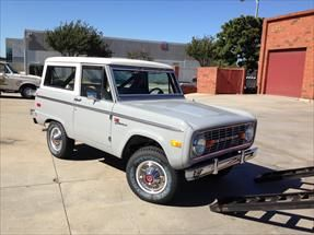 Uncut Early Bronco for sale Grey with black