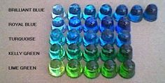 Transparent Dye for Clear Casting Polyester Resin, Urethane, Epoxy, Shellac, EP7701. Pigments. Colors red, blue, yellow, green, pink. Liquid...