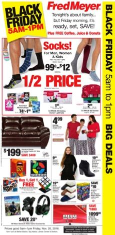 Check out the highlights for the Fred Meyer Black Friday deals for 2014. We've got highlights plus a printable list of all the deals so you can print off.