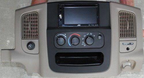 Dodge Ram 2002 2003 2004 2005 1500 2500 3500 Double Din