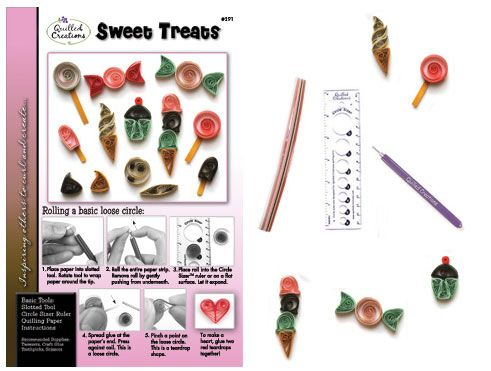 Quilling Kit : #291-CP Sweet Treats