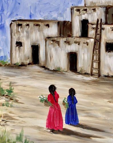 Paint Nite. Pueblo Women