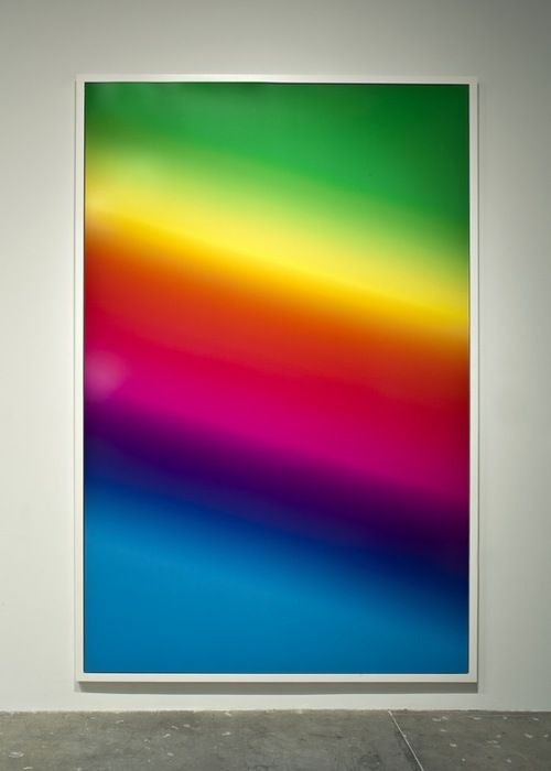 Cory Arcangel - Photoshop Gradient Demonstrations