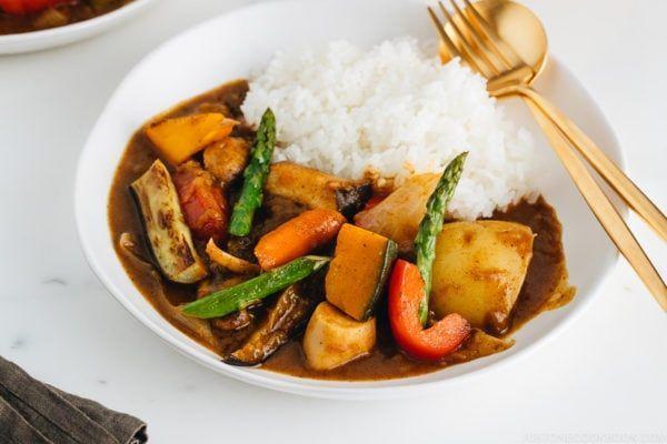 Vegetarian Japanese Curry ベジタリアンカレー Just One Cookbook Recipe In 2020 Vegetarian Japanese Curry Vegetarian Japanese Japanese Curry