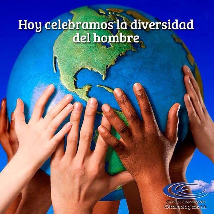 Celebremos que somos únicos y diferentes, celebremos el respeto por la multiculturalidad #DíaDeLaRaza #Octubre12 Foto vía http://goo.gl/c77hKn