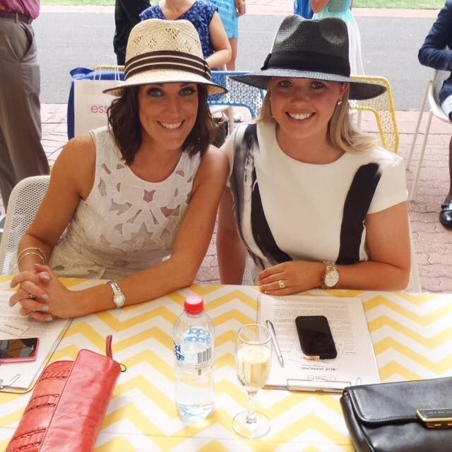 Jo Stanley and Emily Collie - Caulfield Summer Style Stakes