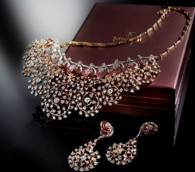 tanishq diamond jewellery collection - Google Search