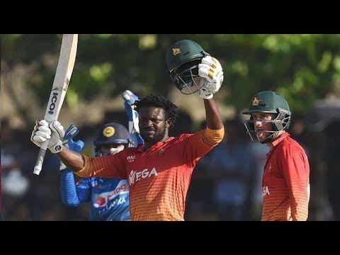 जमबबव न बनय इतहस शरलक म ऐस करन वल पहल टम बन - Latest News https://youtu.be/-mAz45g227Q जमबबव न बनय इतहस शरलक म ऐस करन वल पहल टम बन - Latest News  Watch this video :- https://youtu.be/-mAz45g227Q  In the first match of the one-day series against Sri Lanka Zimbabwe made a big difference and won the match by 6 wickets. The big thing is that Zimbabwe won the match chasing 300 runs targets. In the match Sri Lanka first scored 316/5 in reply Zimbabwe won the match with the help of their opener…