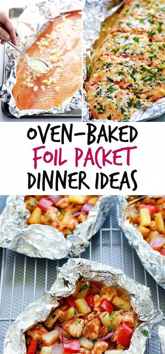 12 simple pack dinners that you can bake #healthymealsfordinner   – healthy meals for dinner
