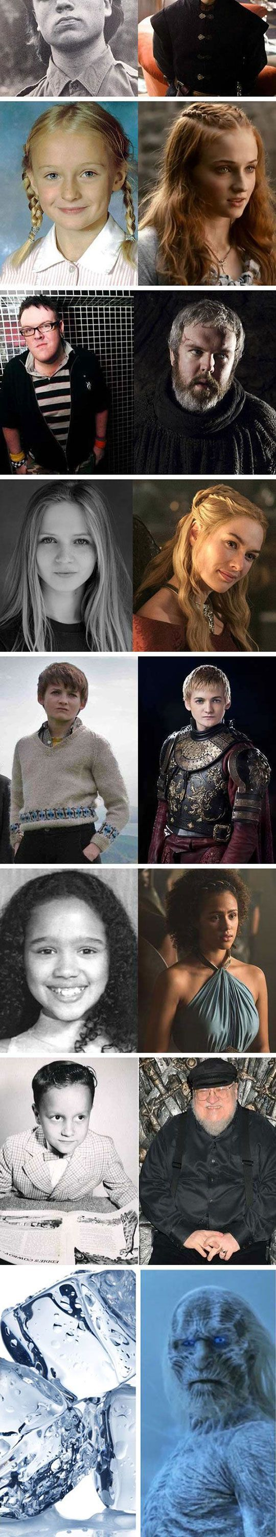 The Young Cast Of Game Of Thrones: