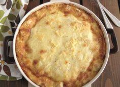 Σουφλέ με 4 τυριά και γιαούρτι