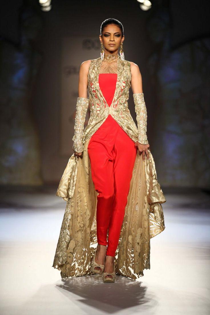 Gaurav Gupta for Delhi Couture week 2014. #perniaspopupshop #designer #beautiful #gorgeous #label #love #GauravGupta #chic #trendy #style #fashion #coutureweek #Delhi #Glamour