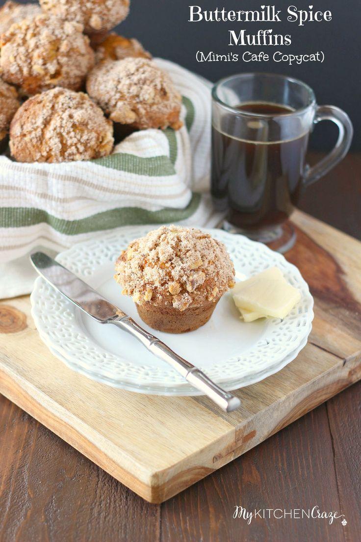 Buttermilk Spice Muffins (Mimi's Cafe Copycat ...