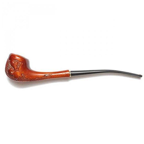 Extra Long Pipe Lady Versal. Churchearden Tobacco by MyTinyTree, $25.88