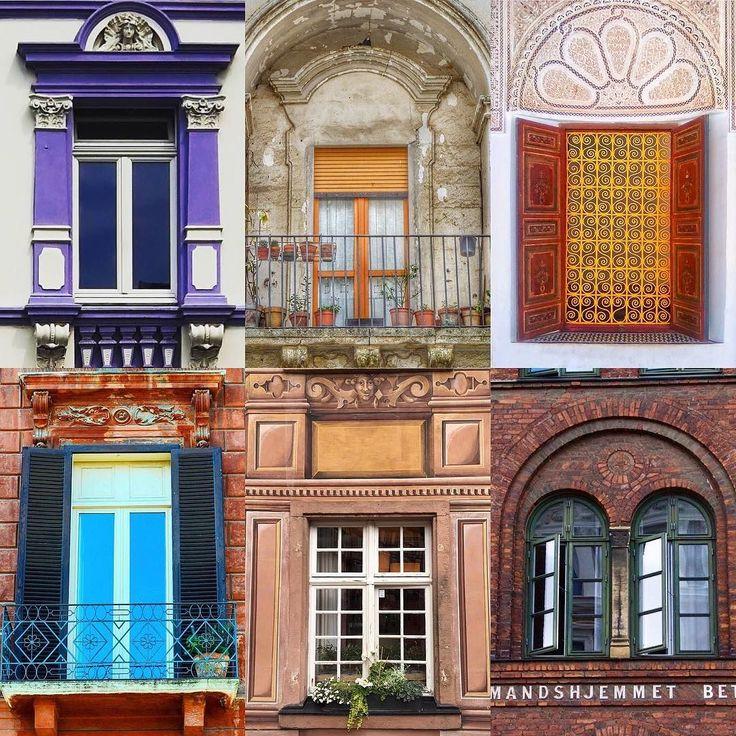 Windows by:  R1C1: @girls_on_mars R1C2: @h_basic_ R2C1: @lovepositano R2C2: @katiherzig R3C1: @lunatrusiani R3C2: @anna.dottir  Congratulations!  Tag #windowsanddoorsoftheworld to be featured!