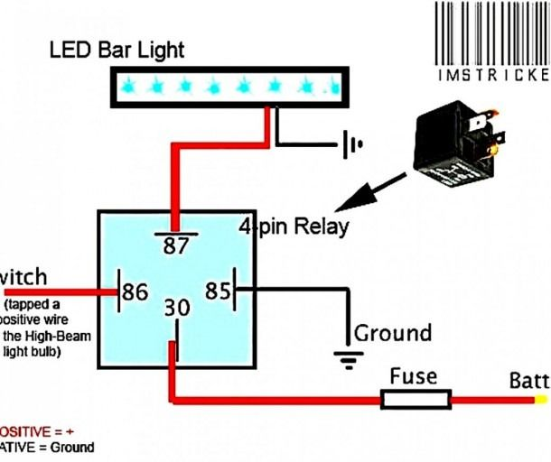 Led Light Bar Wiring Harness Diagram  With Images