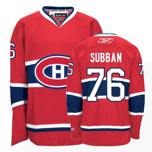 P.K Subban Jersey-Buy 100% official Reebok P.K Subban Youth Premier Red Jersey NHL Montreal Canadiens #76 Home Free Shipping.