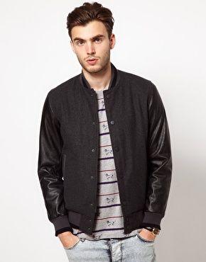 ASOS: Asos Com, Baseb Jackets, Baseball Jackets, Buy Asos,  Suits Of Clothing, Asos Enlarge, Asos Wool, Wool Baseball, Baseb En