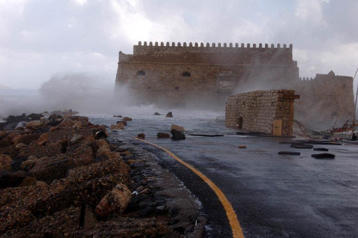 Koule fortress Crete,Grecce