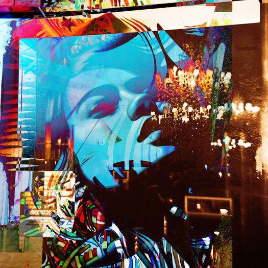 """Fluorescent Palace """"The Krystal Elitist"""" Canvas Art"""