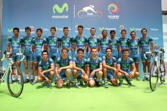 El primer equipo de ciclismo continental ecuatoriano competirá en 25 carreras internacionales