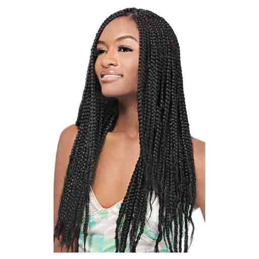 X-pression Braid Synthetic Extensions